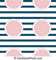 citrus, modèle, résumé, seamless, illustration, vecteur, fond