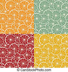 Citrus pattern collection