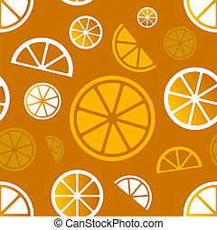 citrus, pattern., vecteur, eps10, seamless