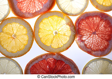 Citrus slices