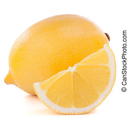 citrus vrucht, citroen, of, citron