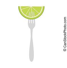 citrus vrucht, citroen, pictogram