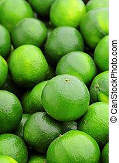 citrus vrucht, kalk