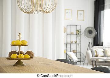 citruses, 在中, 餐厅
