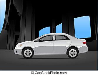 città, automobile