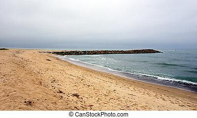 città, ca, ventura, spiaggia