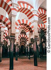 città, codoba, moschea, precedente, andalusian, situato, spagna