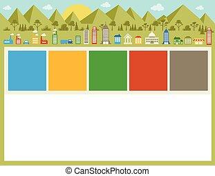 città, colorito