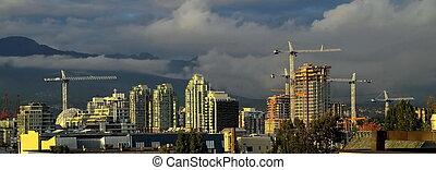 città, costruzione