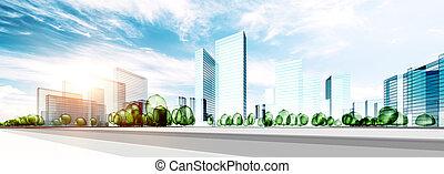 città, costruzione, ecologia
