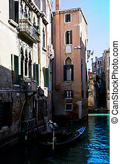 Città di Venezia, Italia - Panorama del Canal Grande di...