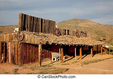 città fantasma, xx, arizona