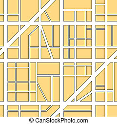 città, fondo, mappa