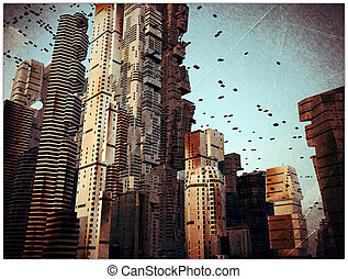 città, futuro