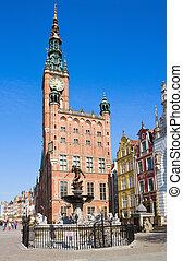 città,  Gdansk, salone