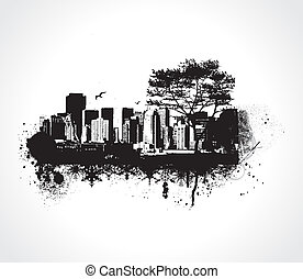 città, grunge