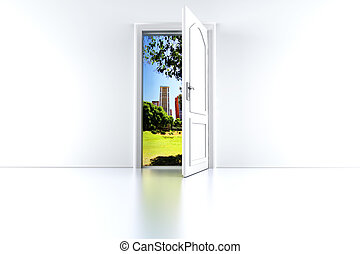 città, porta