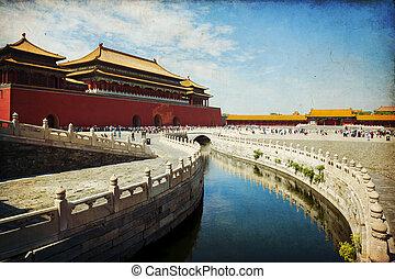 città, proibito, beijing
