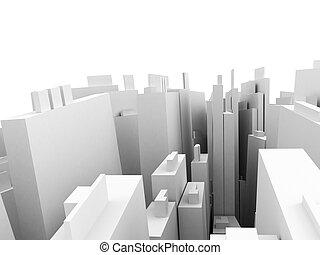 città, prospettiva