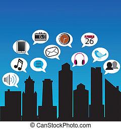 città, sociale
