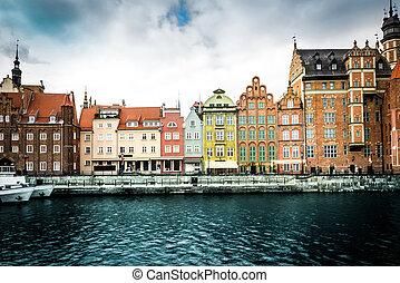 città, storico,  Gdansk