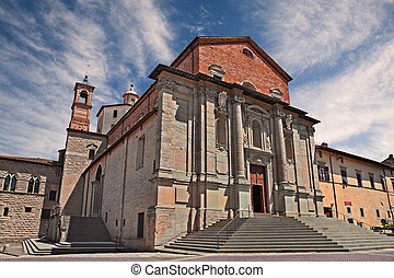 citt?, san, di, perugia, florido, umbria, castello, catedral...