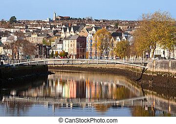 city., írország, bedugaszol