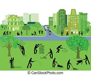 City and Garden