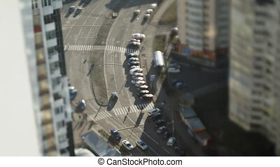 City and road Time Lapse