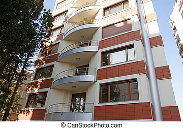 City apartments - Building with new apartments from Istanbul