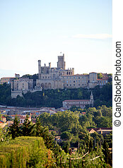City beziers in france