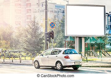 City billboard