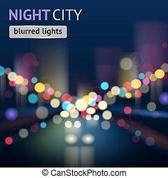 City Blur Background