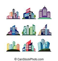 city building set