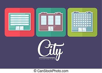city buildings design