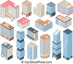 City Buildings Set