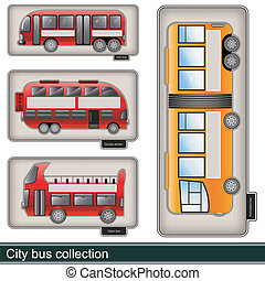 city bus collection
