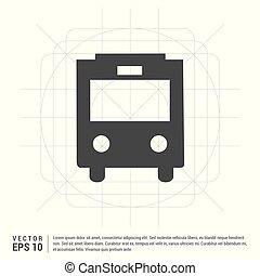 City bus icon