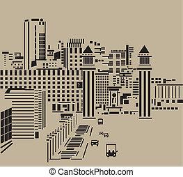 city., calle principal
