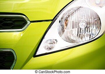 City Car Closeup