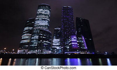 City center - high-rise office in downtown Moscow