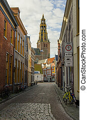 City Center in Groningen