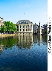 city center of Den Haag, Netherlands