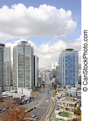 City Center of Seoul - The financial district of Seoul,...