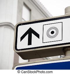 city center sign