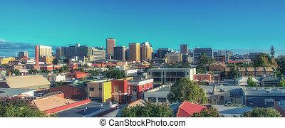 City centre of Adelaide Australia
