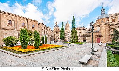 City centre of Salamanca, Castilla y Leon region, Spain