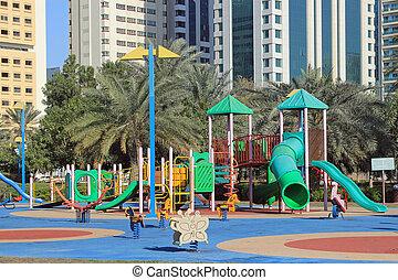 City children's playground