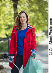 City Cleaner in Red