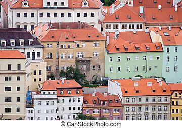 City closenes in Prague